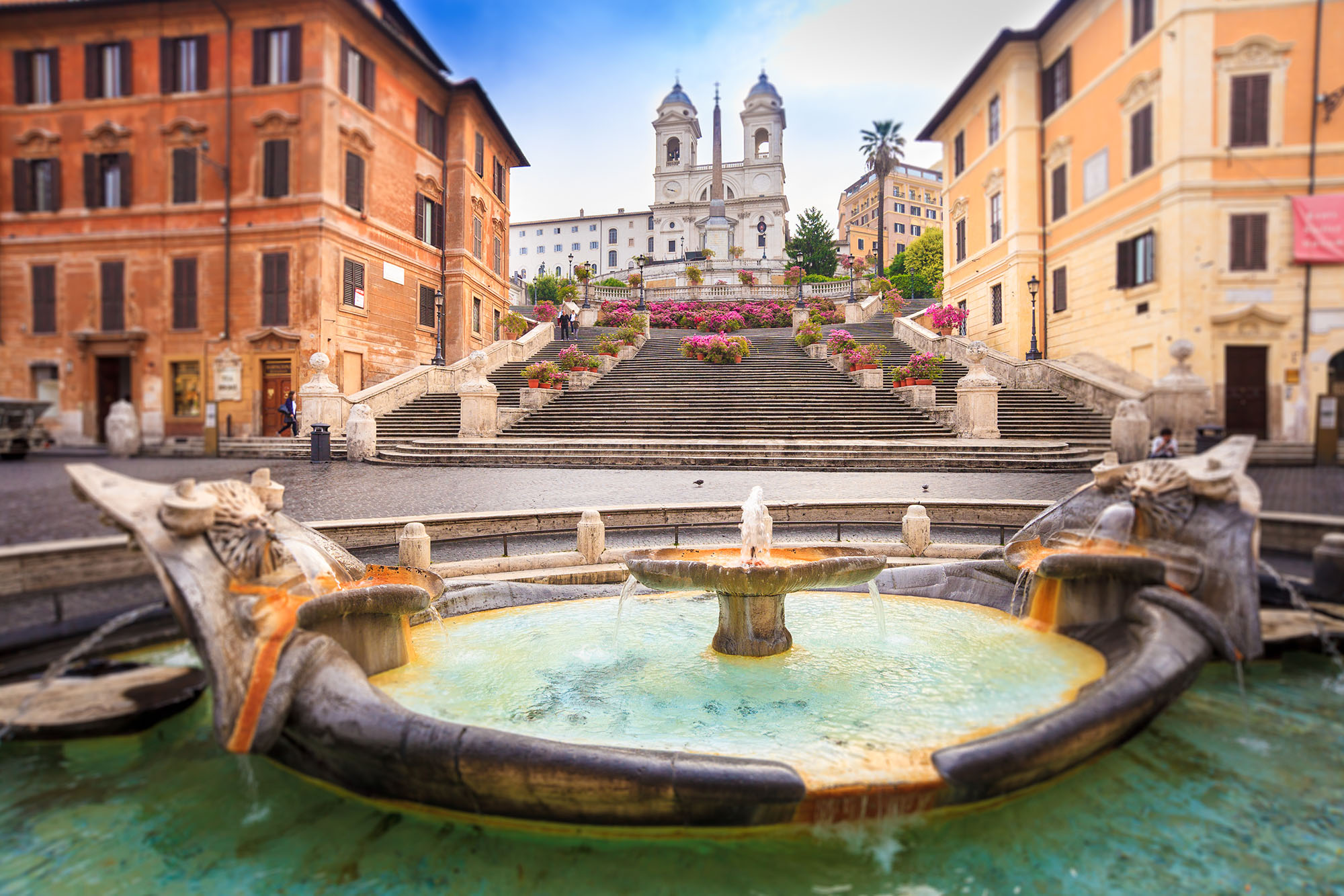 Sitting On The Spanish Steps Just Got Very Expensive