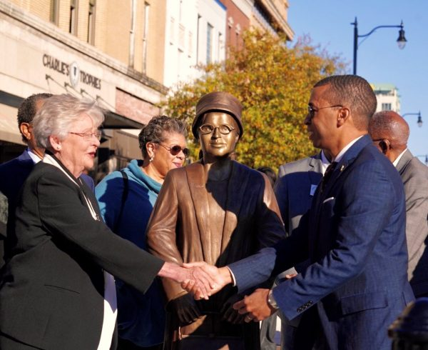 The New Rosa Parks Statue in Montgomery, Alabama