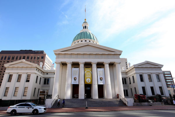 African-American Historical Landmarks: The St. Louis Old Courthouse