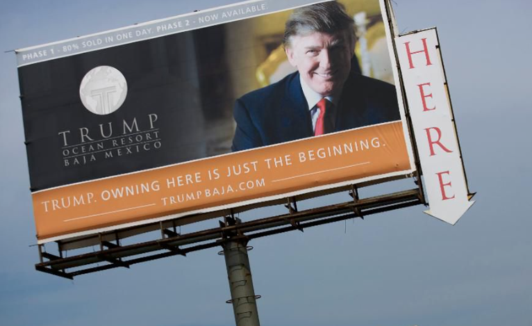 Wait A Minute, Trump Was Building A Hotel In MEXICO! Hmmmmm