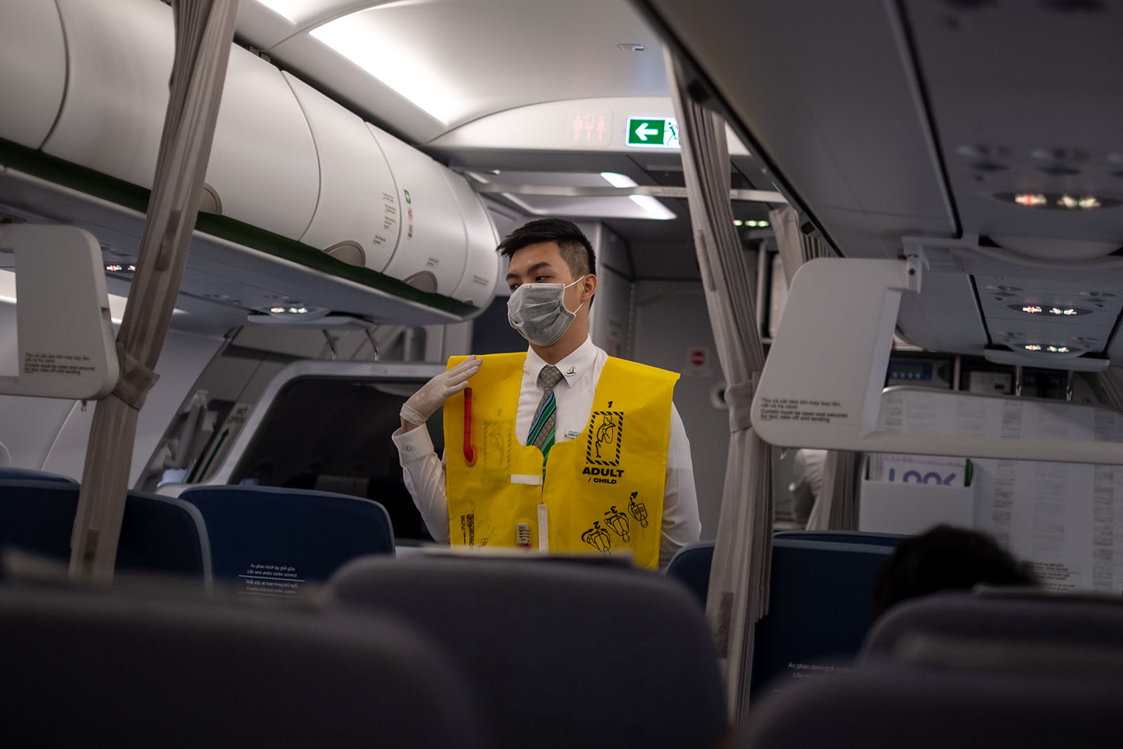 Corona Virus Airplane Prevention