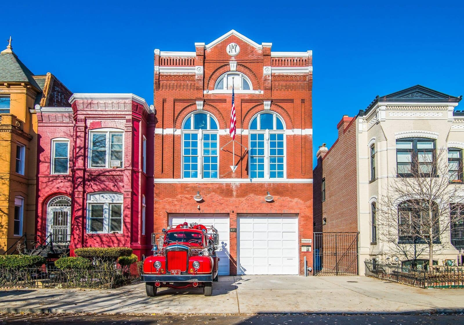 DC's First African-American Firehouse Is Now An AirBnB